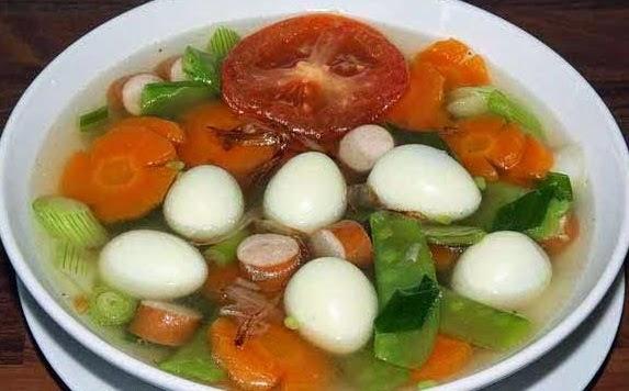 Bumbu sayur sop sederhana nikmat