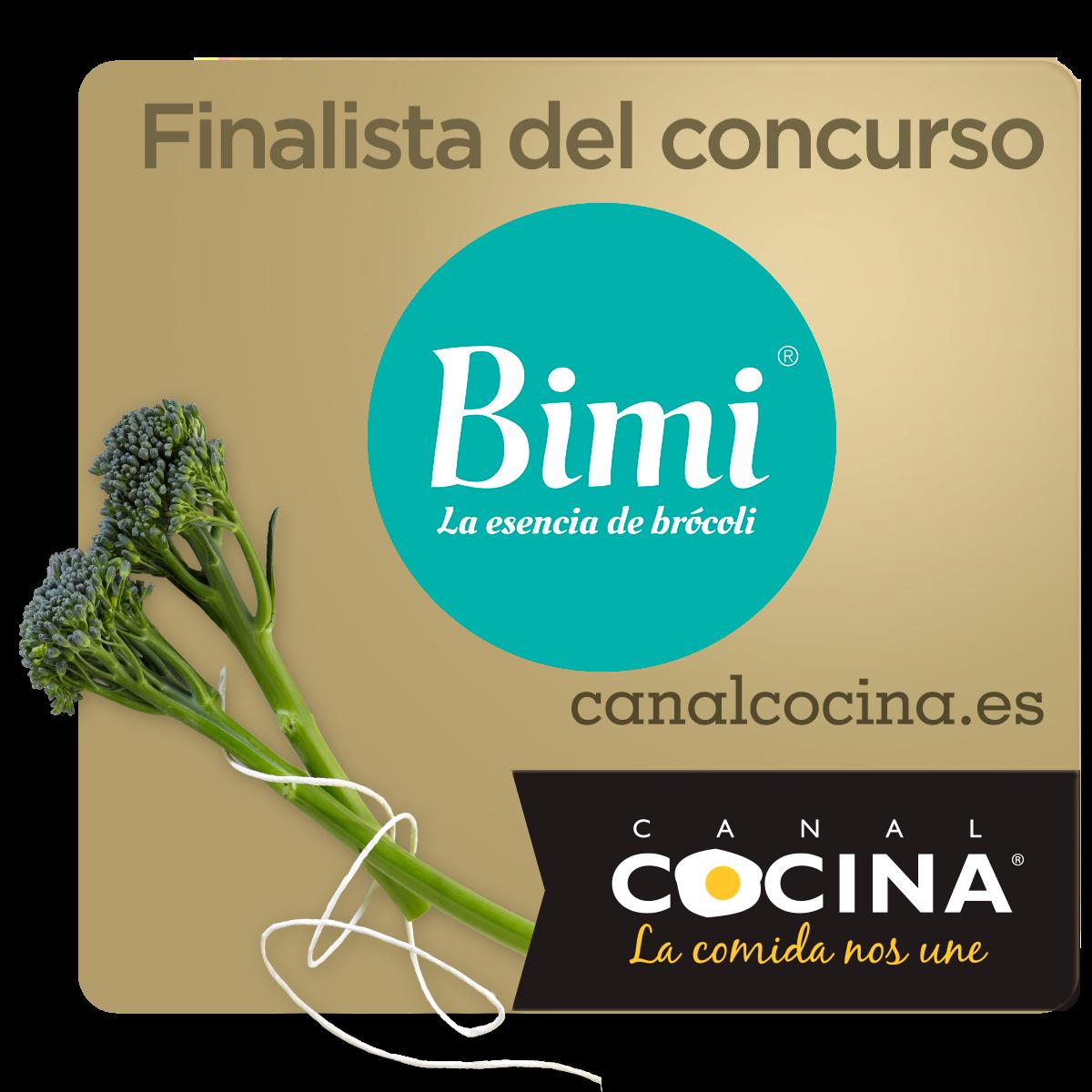 Quinoa con Bimi y crujiente de calabacín