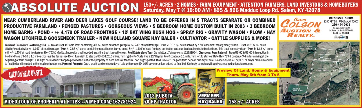 Livingston County Auction