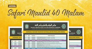 Safari Maulid Majlis Riyadlul Jannah