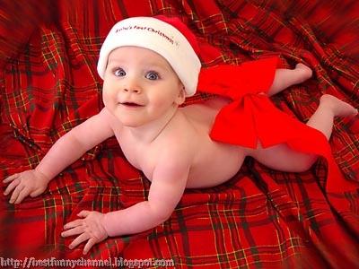Baby Santa.