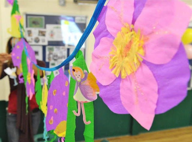 Mrs Fox's Flower Bunting