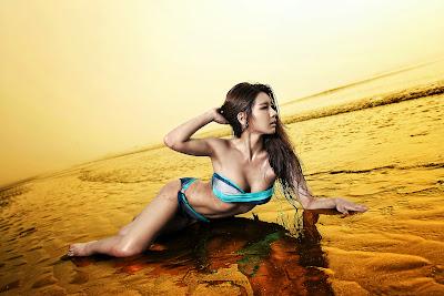 Park Si Hyun Sexy Bikini