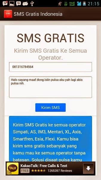 Tips Mengirim SMS Secara Gratis di Android
