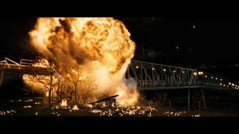 Explosion au cinéma