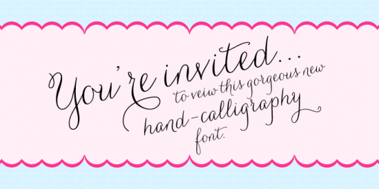 Calligraphy Alphabet : wedding calligraphy fonts
