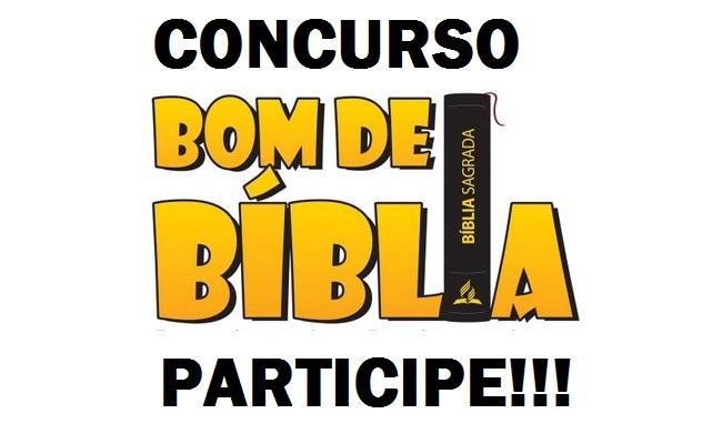 Concurso BOM DE BÍBLIA 2017