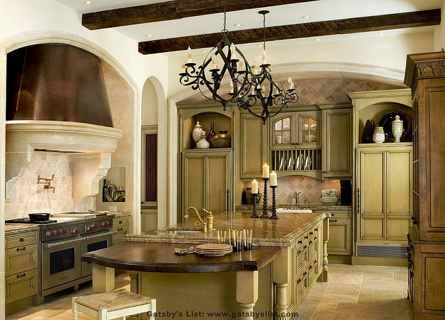 small homely or an opulent villa - Tuscan Style Kitchen