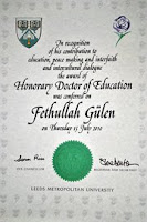 Fethullah Gulen's honorary doctorate