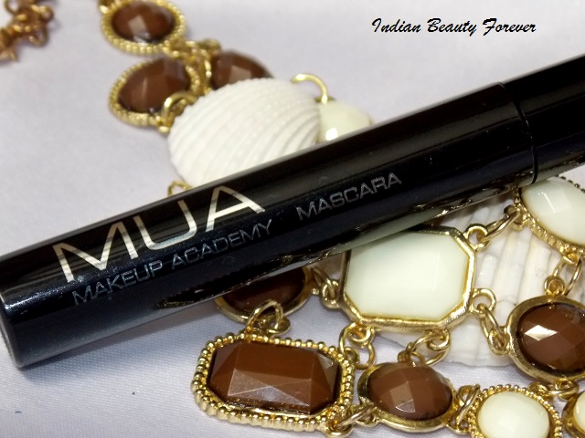 MUA makeup Academy Mascara Review price and swatches