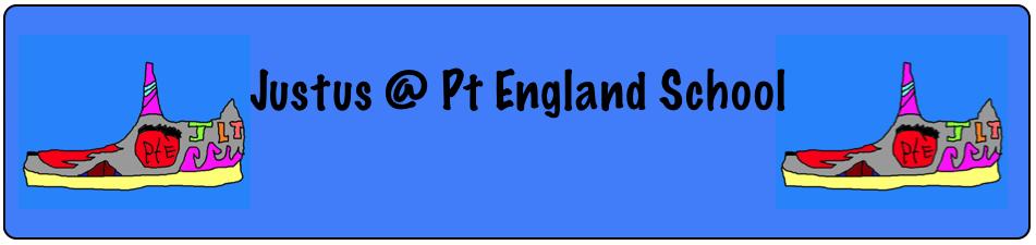 Justus @ Pt England School