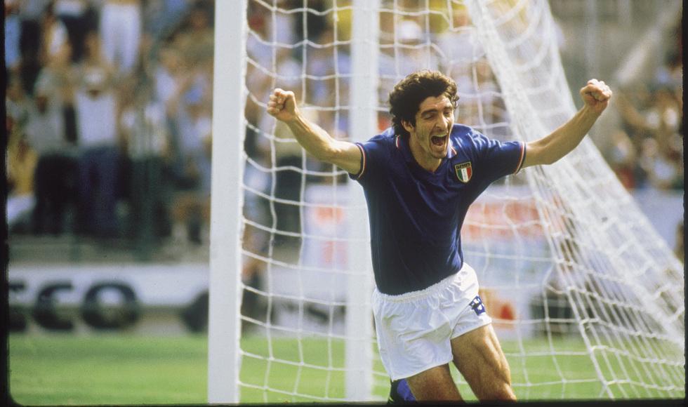 Gol do Paulo Rossi na copa de 82