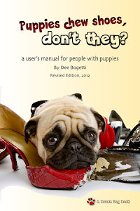 "Getting a puppy? Download ""Puppies chew shoes"" for Kindle."