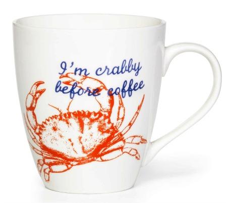 Crabby Beach Quote Mug