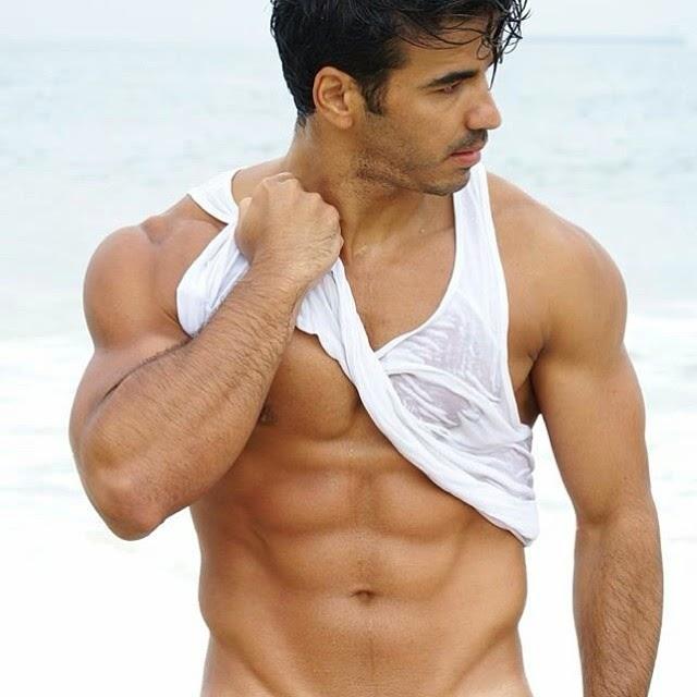 Cesar Chiappetta shirtless