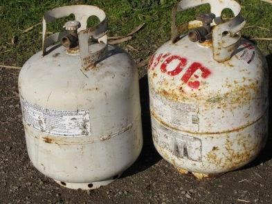 LNG cylinder tanks