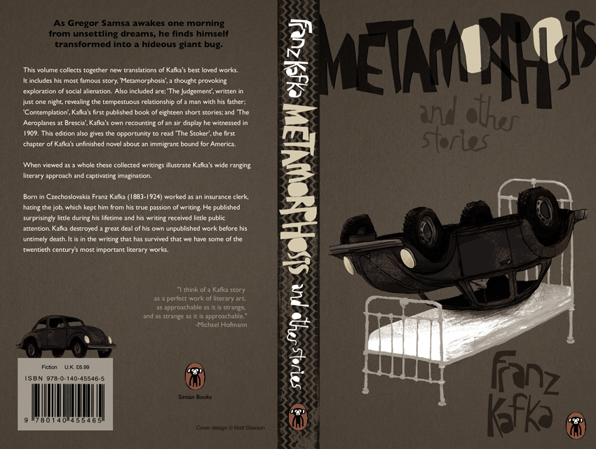 franz kafka illustrated his life story and personality in his novella the metamorphosis The metamorphosis and other stories franz kafka share home literature notes the metamorphosis and other stories kafka and existentialism table of contents.