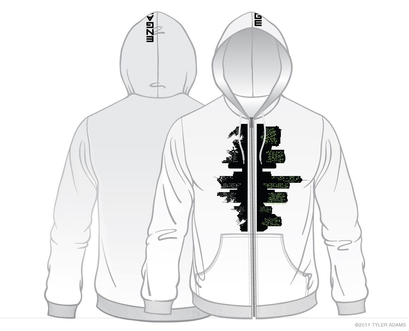 Design zip up hoodie