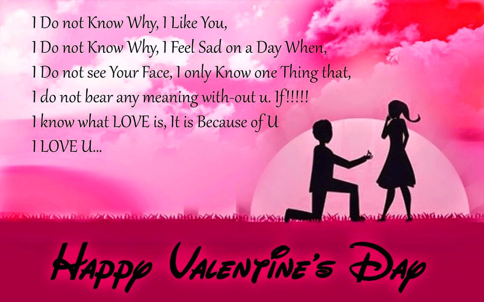 Valentine Day Poems For Girlfriend From Lover Poetry Likers