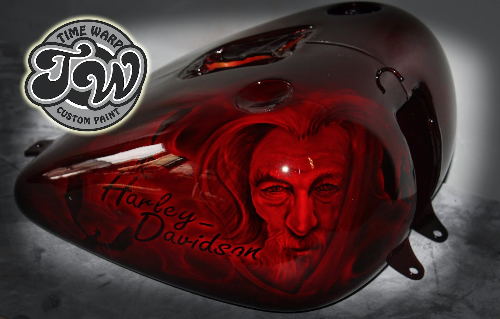 Candy Apple Red Paint Motorcycles
