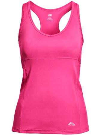 camiseta deportiva mujer H&M Sport