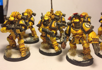 Pre-Heresy Imperial Fists Tactical Squad