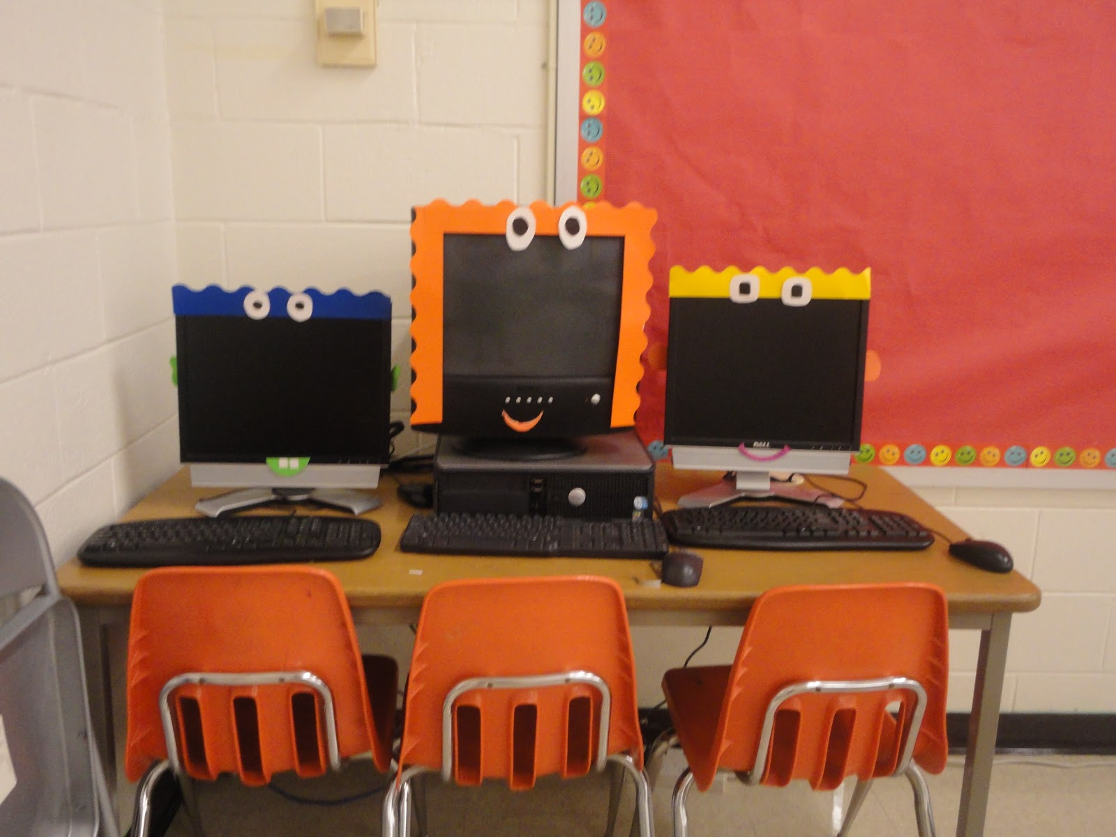 Computer Classroom Decoration : First grade spies march