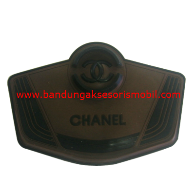 Dash Mat Chanel Jepitan + HP Coklat - Hitam Japan