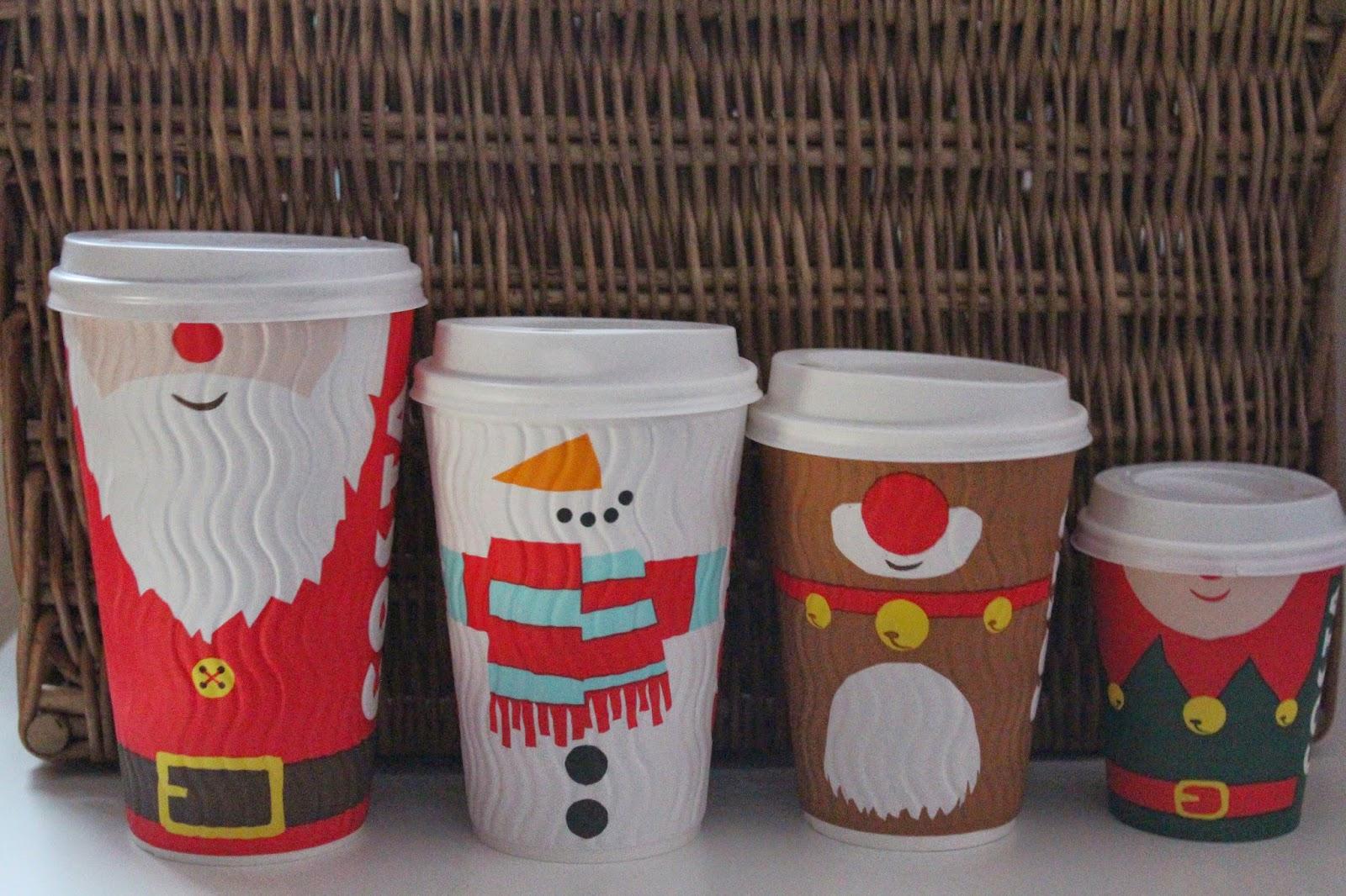 Costa Coffee Christmas Range Raining Cake