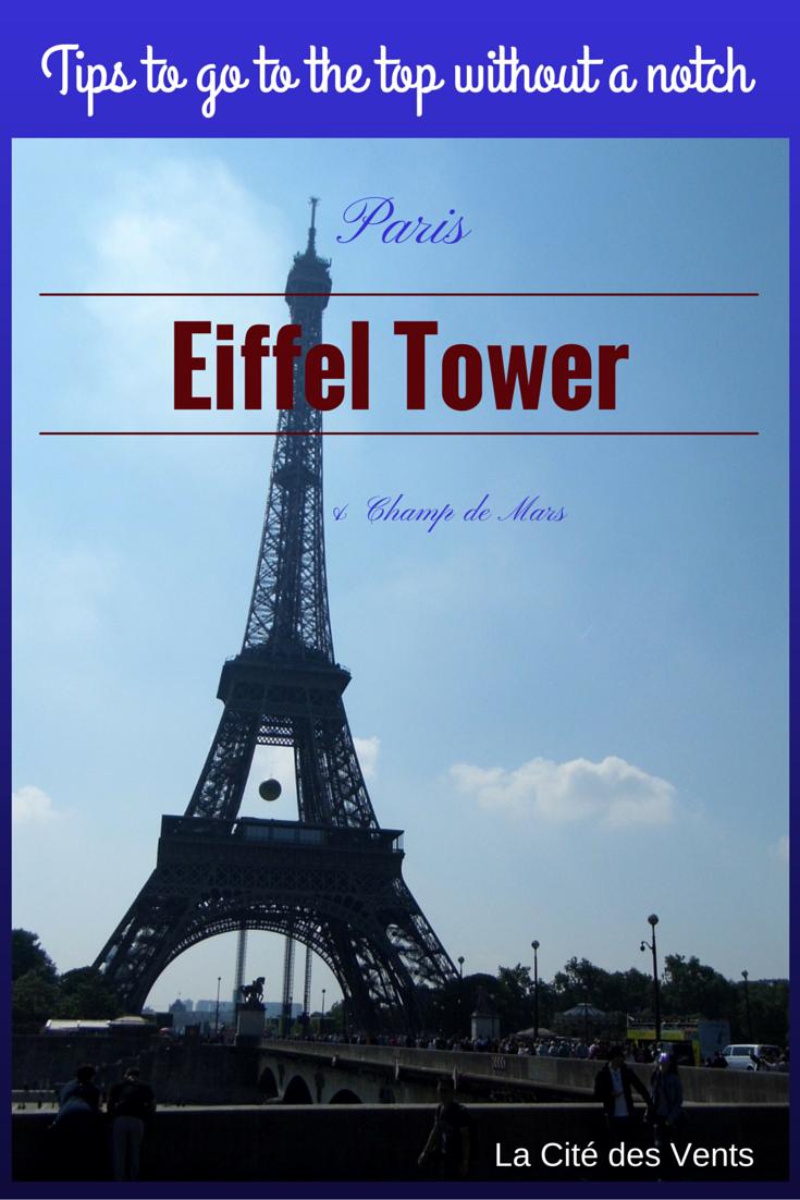 La Cit 233 Des Vents Paris Eiffel Tower Amp Champ De Mars