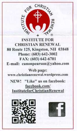 Institute for Christian Renewal