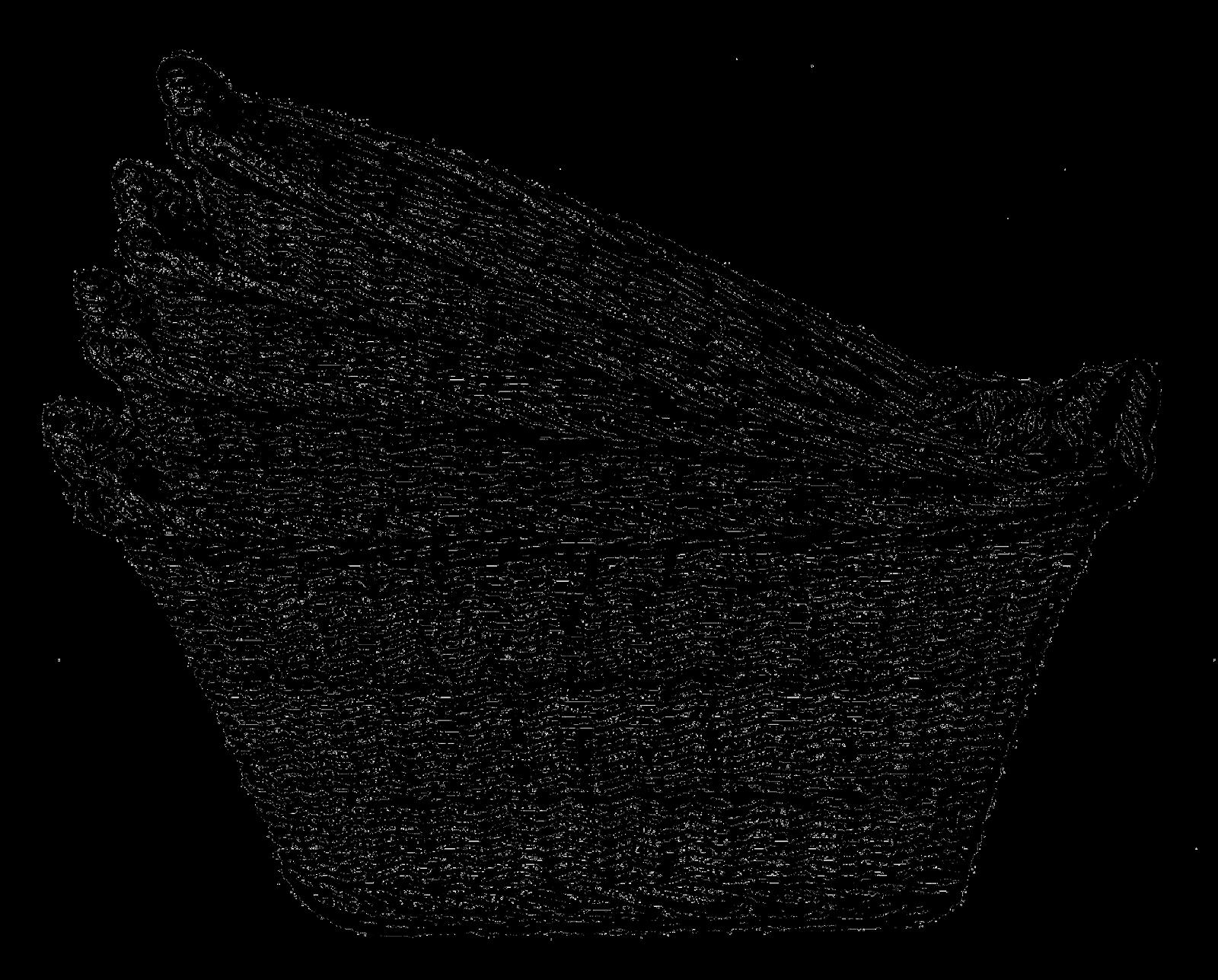 Art Basket Images : Antique images digital clip art of wicker laundry