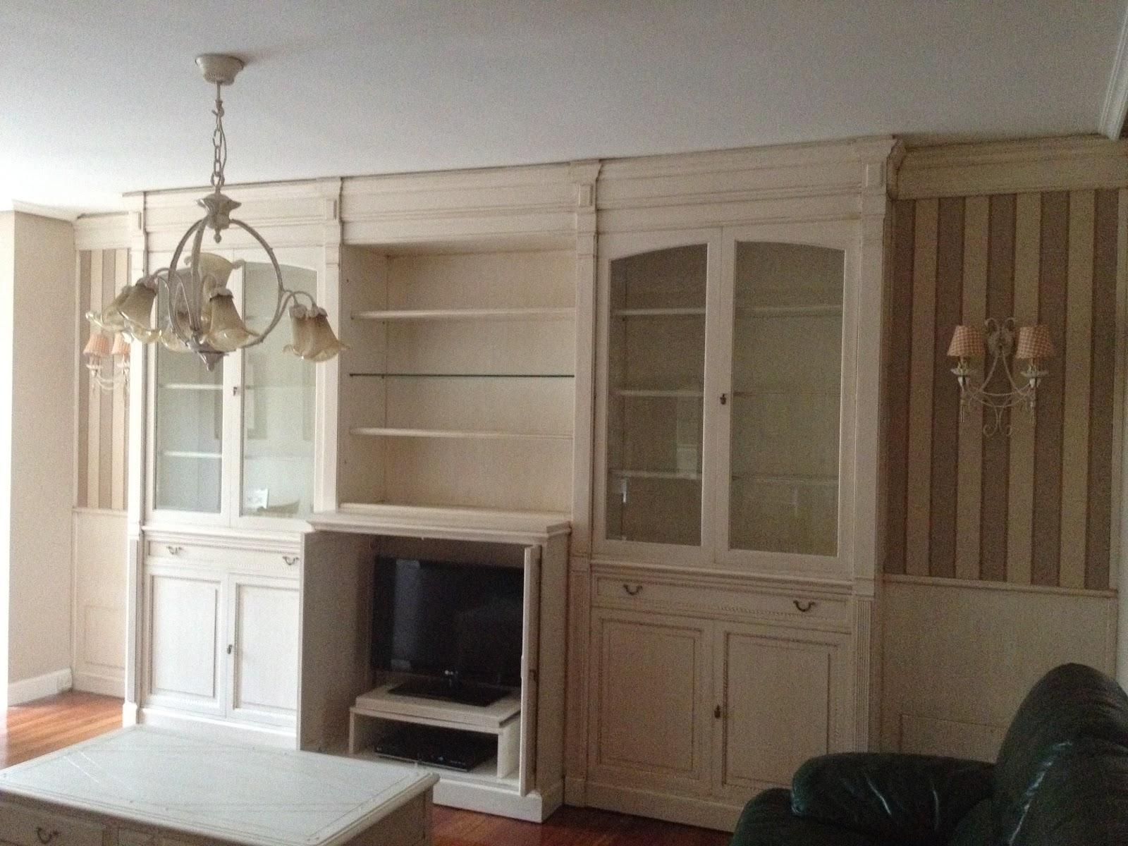 Recikla arte salon reciclado y renovado paso a paso for Lacar muebles en blanco