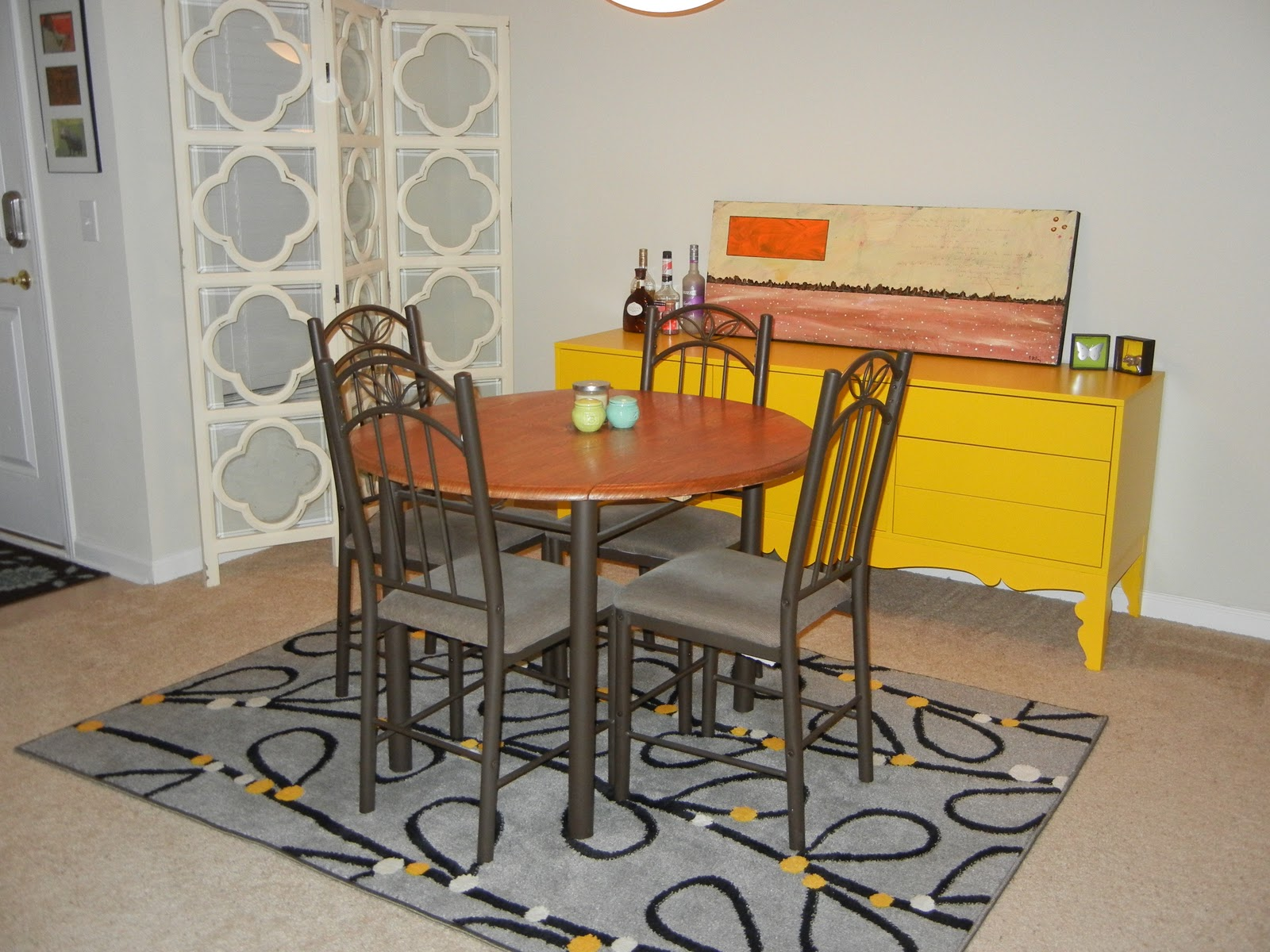 Ikea Yellow Credenza : I love orla kiely ikea trollsta sideboard