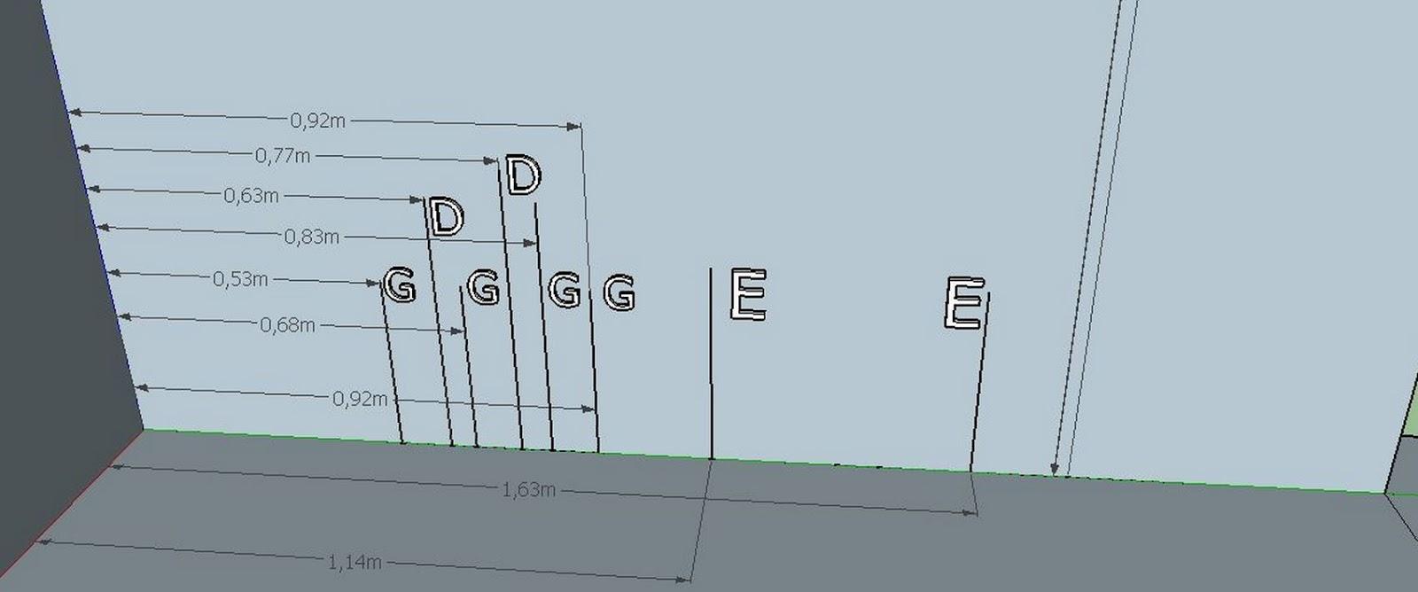Cotas en 3D sacadas del borrador