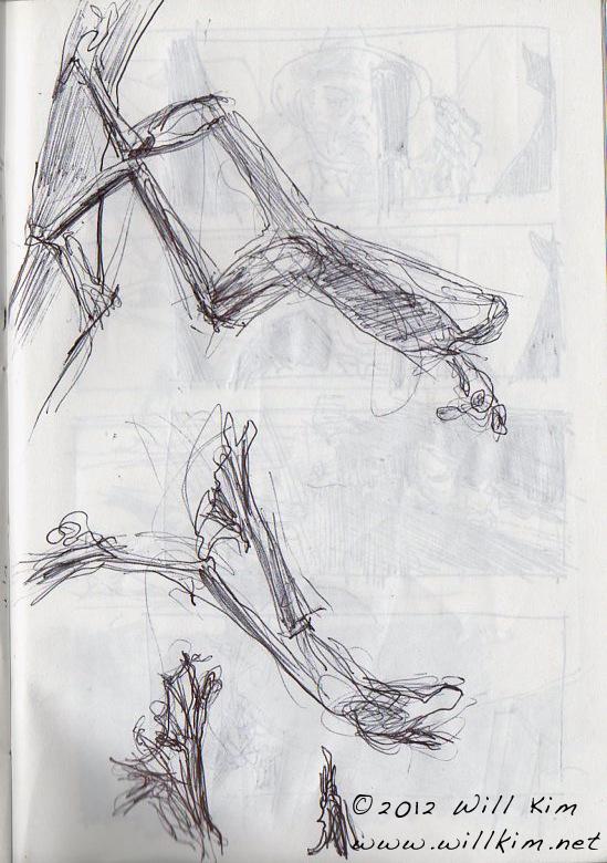 Sketchbook Drawings - Frog