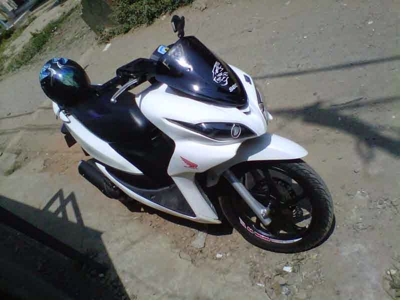 Honda Spacy Modif