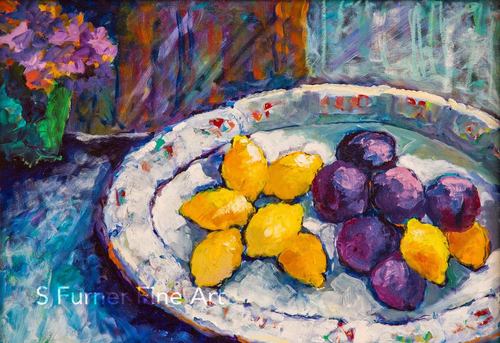 Plums and Lemons