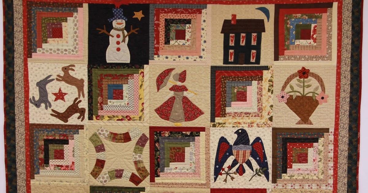 Monthly Calendar Quilt Patterns : Jan patek quilts calendar quilt latest tutorial