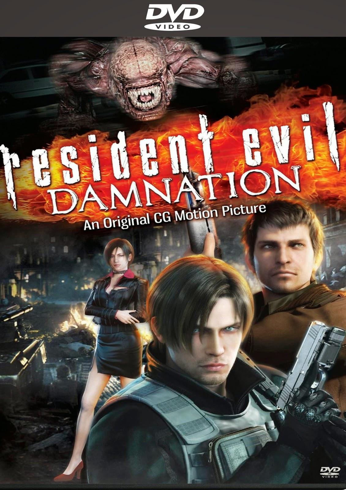 Resident Evil Damnation [2012] [Latino] [DVD Full]