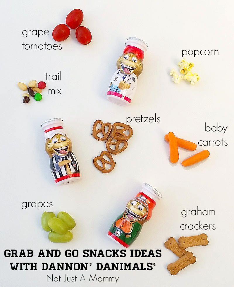 Grab And Go Snack Ideas With Dannon® Danimals®