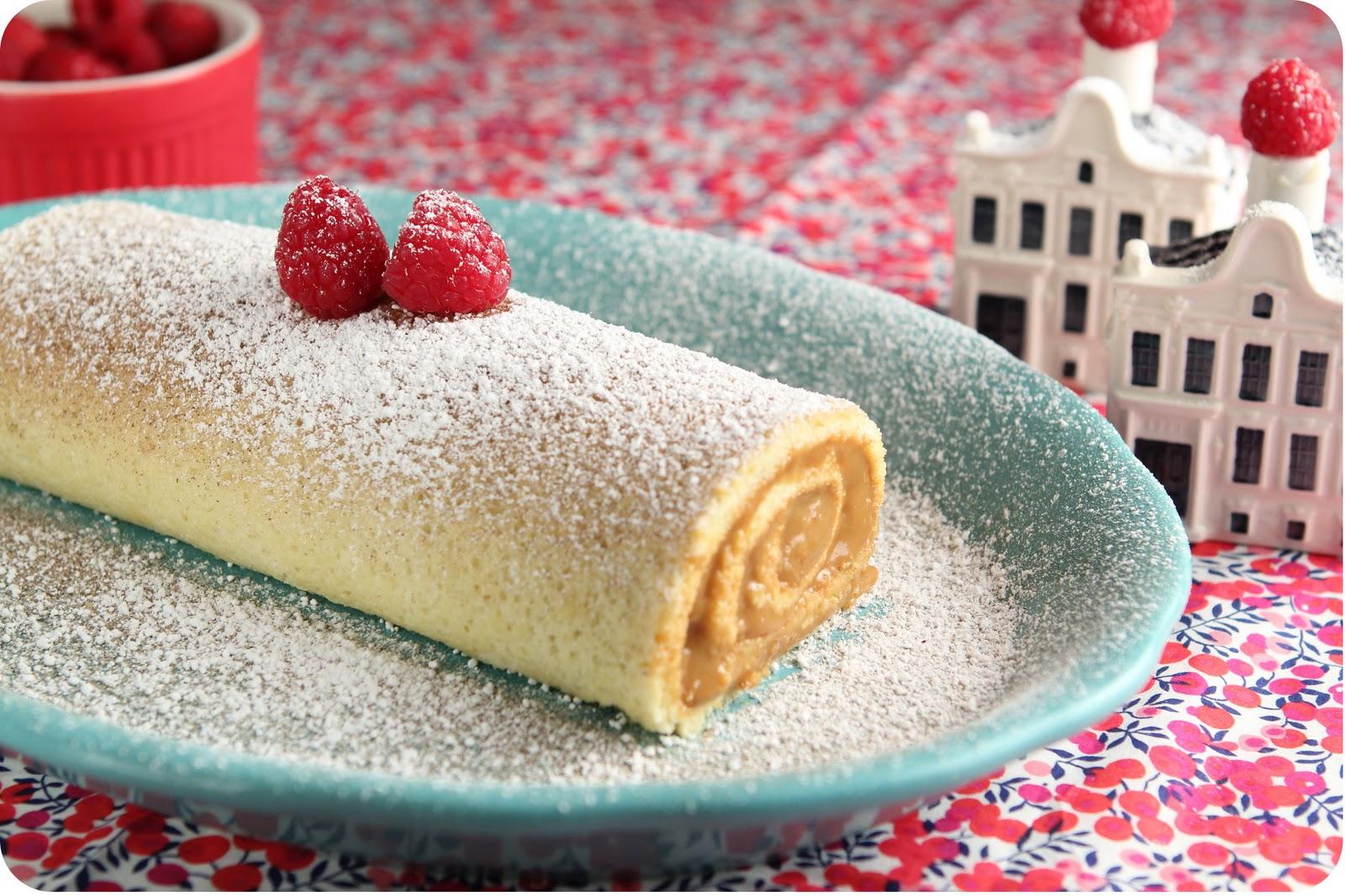 Dulce Delight: Dulce de Leche Rolled Cake