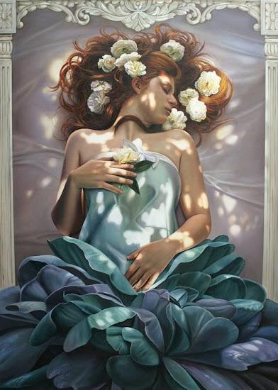 Oil Paintings by Christiane Vleugels