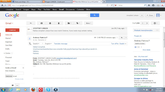 About Gmail's new look – Kuhusu Gmail – Google