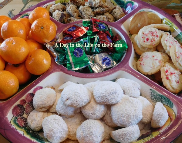 A Day In The Life On The Farm Almond Cherry Snowball Cookies Ala