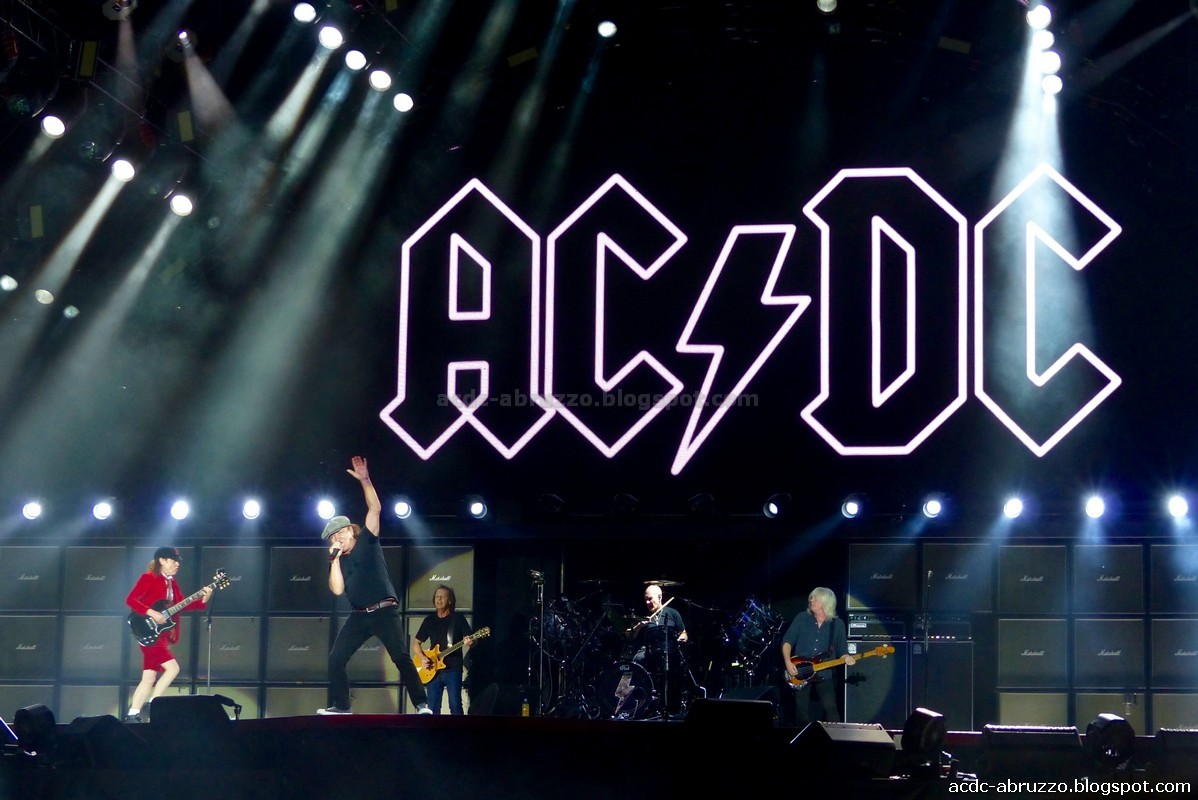 acdc concert report The guardian - back to home make  ac/dc lead singer brian johnson and lead guitarist angus young perform the first concert in australia on  ac/dc.