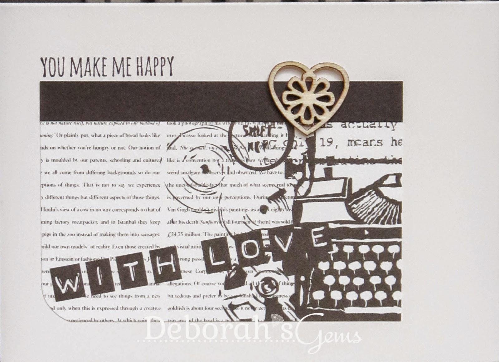You Make Me Happy - photo by Deborah Frings - Deborah's Gems