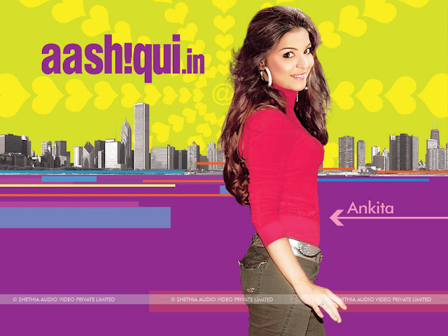 Ankita Shrivatsava in Aashiqui.in