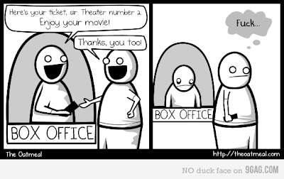 I always do this at the movies