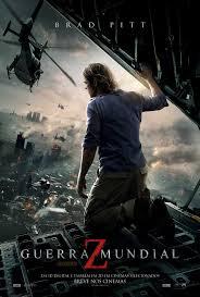 "Poster do filme ""Guerra Mundial Z"""